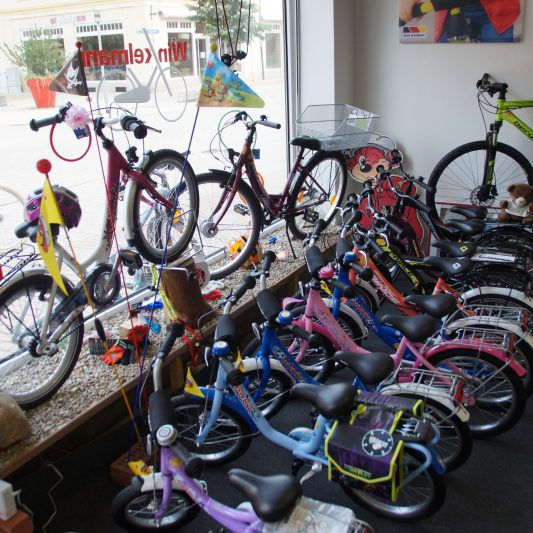 Kinderfahrräder klein