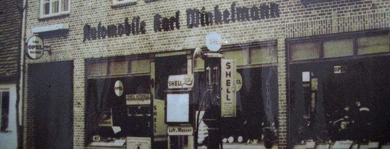 Zweiradhaus Winkelmann Ladenfront früher