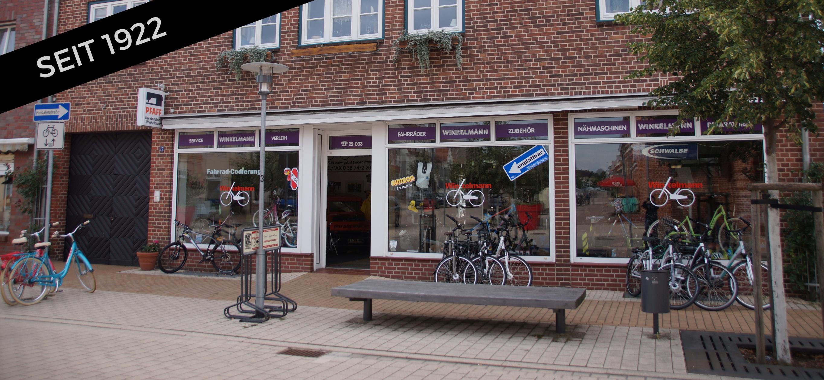 Zweiradhaus Winkelmann Ladenfront
